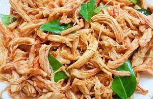 4 cách làm khô gà lá chanh giòn dai và mềm dẻo