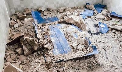 Phút kinh hãi của nhân chứng trực tiếp đập vỡ 2 thùng bê tông thấy 2 xác người