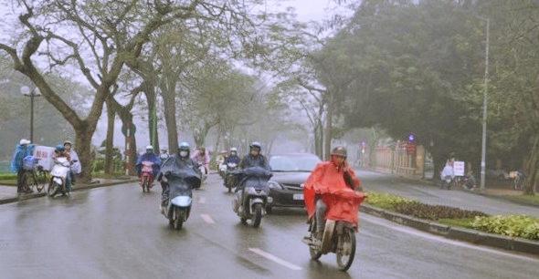 Dự báo thời tiết 26/4: Hà Nội xuất hiện mưa rào